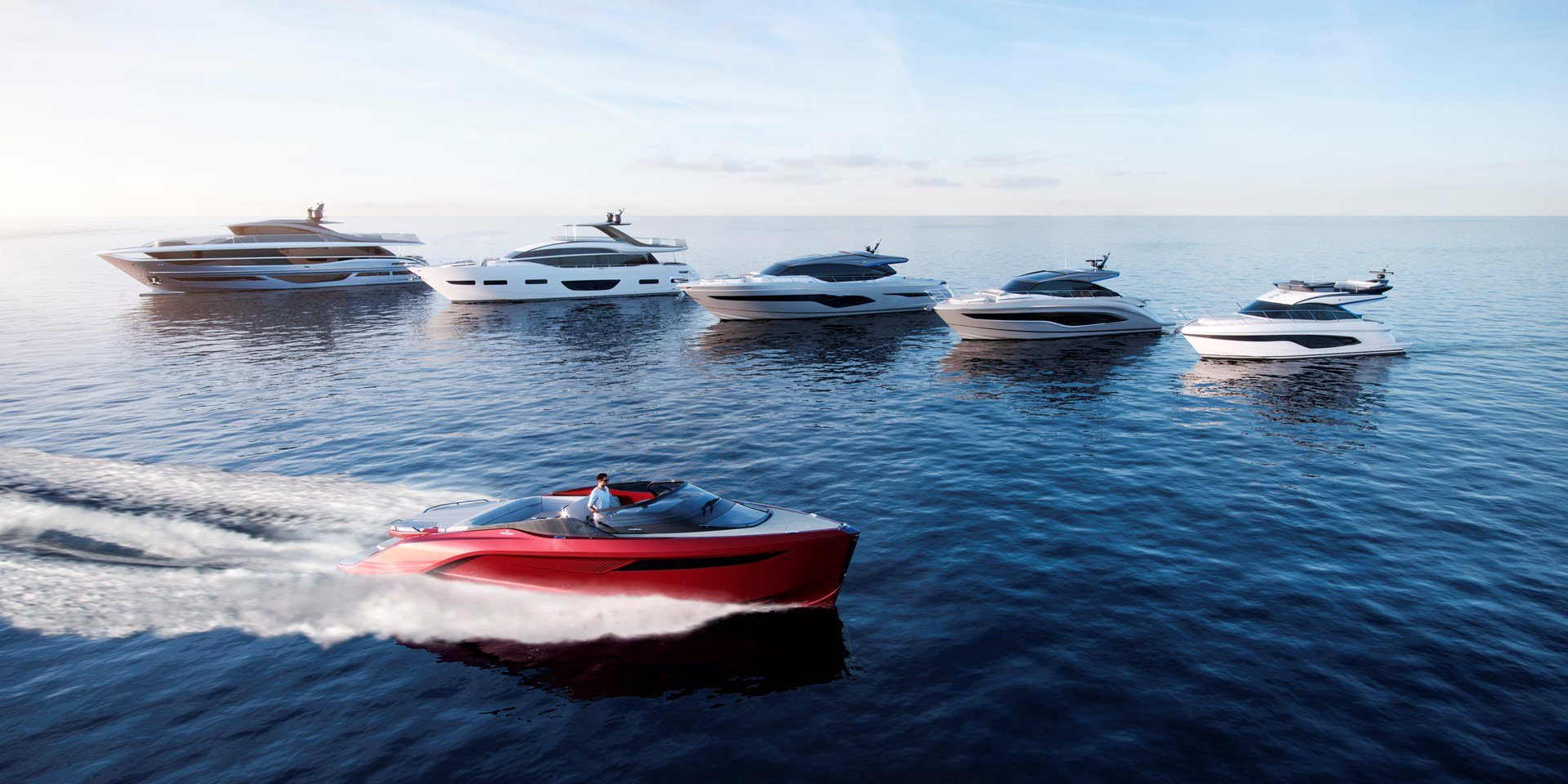 Princess Yachts On Track For Groundbreaking 2018 Powering From